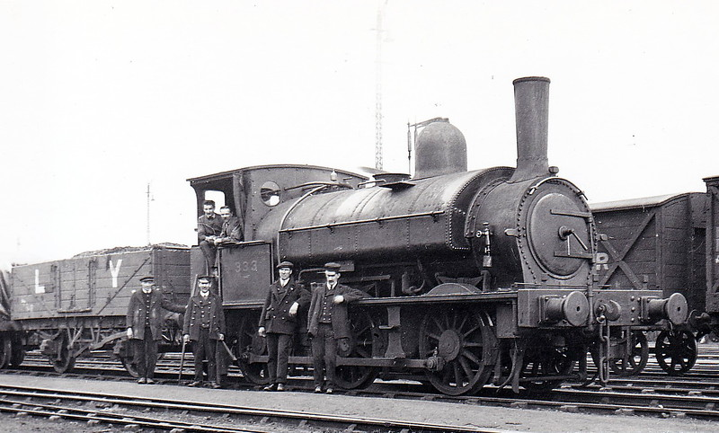 333 - Beattie LSWR Class 0330 0-6-0ST - built 1876 by Beyer Peacock & Co., Works No.1593 - 1905 to LSWR Duplicate List as No.0333 - 1923 to SR as No.E0333 - 1929 withdrawn - seen here at Nine Elms in April 1920.