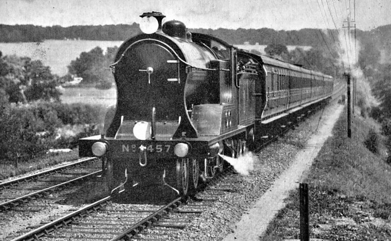 457 - Drummond LSWR Class G14 4-6-0 - built 05/08 by Nine Elms Works - 01/25 withdrawn.