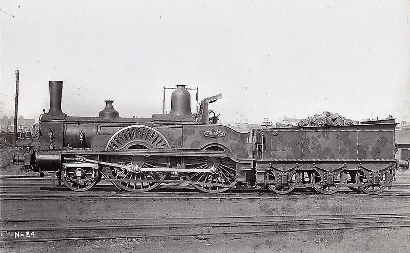 99 PHLEGON - J Beattie LSWR Centaur Class 2-4-0 - built 1868 by Nine Elms Works - 1899 withdrawn.