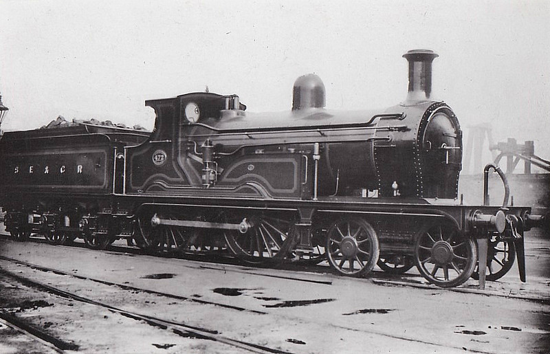 472 -  Kirtley LCDR Class M3 4-4-0 - built 05/1896 at Longhedge Works as LCDR No.13 - 1899 to SECR No.472 - 11/27 withdrawn.