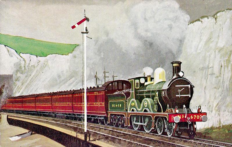 470 - Wainwright SECR Class D 4-4-0 - built 08/1906 by Ashford Works - 1926 rebuilt at Ashford Works as Class D1, 1931 to SR No.1470, 05/48 to BR No.31470 - 06/59 withdrawn from 74D Tonbridge.