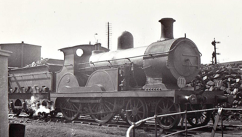 2 - Stirling SER Class F 4-4-0 - built 11/1886 by Ashford Works as SER No.2 - 1911 rebuilt to Class F1 - 1931 to SR No.1002 - BR No.31002 not applied - 06/48 withdrawn from 73D Gillingham - seen here ar Reading South.