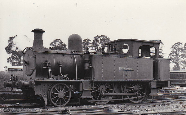 ISLE OF WIGHT RAILWAY - BONCHURCH - IOWR 2-4-0T - built 04/1883 by Beyer Peacock Ltd., Works No.2376 - 1923 to SR No.18 BONCHURCH - 05/28 withdrawn - seen here in SR days.