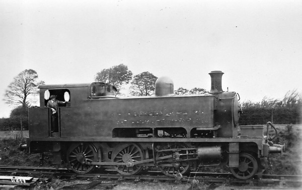 BLACKPOOL - 2-6-0T - built 1909 by Manning Wardle & Co. - fate unknown.
