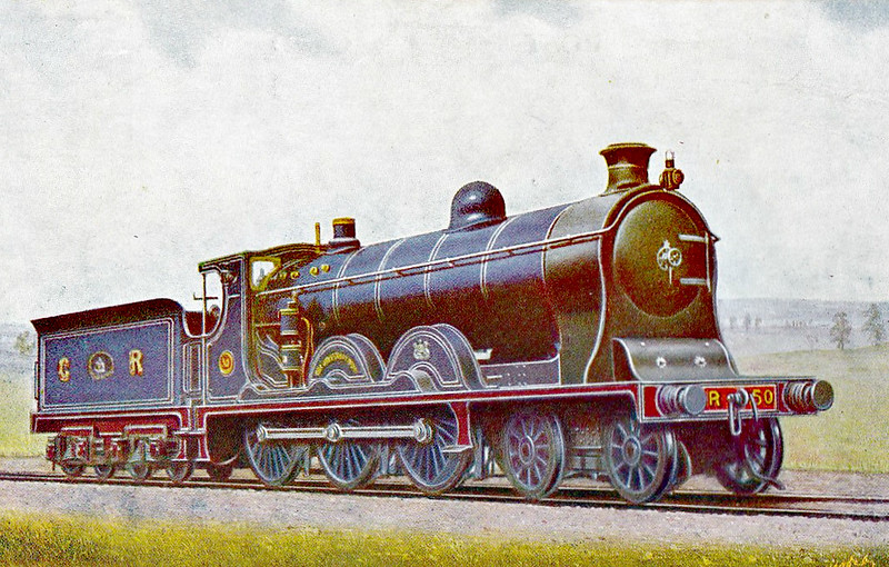 50 - McIntosh Class 49 4-6-0 - built 1903 by St Rollox Works - 1923 to LMS No.14751 - 1933 withdrawn.