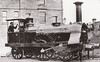 330 - Scottish Central Railway 2-2-2 - built 1847 by Vulcan Foundry Co. as SCR No.7 - 1860 rebuilt as seen here - 1865 to CR No.330 - 1872 withdrawn.