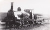 317A - Scottish Central Railway 2-2-2 - built 1847 by Vulcan Foundry - 1875 withdrawn.