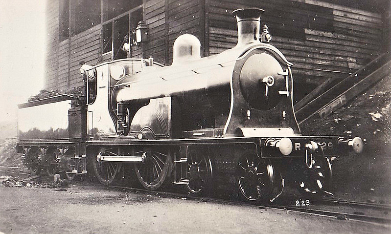 729 - McIntosh CR Class 721 'Dunalastair' 4-4-0 - built 1896 by St Rollox Works - 1923 to LMS No.14319 - 1932 withdrawn