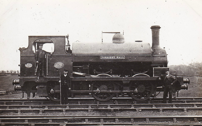 No.7 PONSONBY HALL - 0-6-0ST - built 1896 by Robert Stephenson & Co., Works No.2846 - 1923 to LMS No.11565 (not known if ever applied) - 12/26 withdrawn.