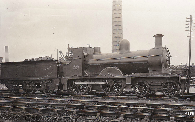 46 - Pettigrew FR Class K2 4-4-0 - built 1896 by Sharp Stewart & Co., Works No.4178 as FR No.34 - 1920 to FR No.46 - 1923 to LMS No.10139 - 08/29 withdrawn.