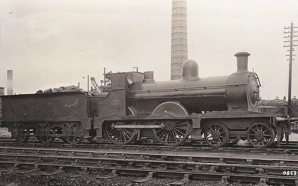 46 - Pettigrew FR Class K2 4-4-0 - built 1896 by Sharp Stewart & Co., Works No.4178 as FR No.34 - renumbered to FR No.46 at an unknown date - 1923 to LMS No.10139 - withdrawn by 1931.