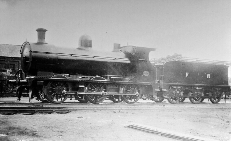 35 - Rutherford FR Class D5 0-6-0 - built 1920 by North British Loco Co., Works No.22576 - 1923 to LMS No.12512 - 12/32 withdrawn.