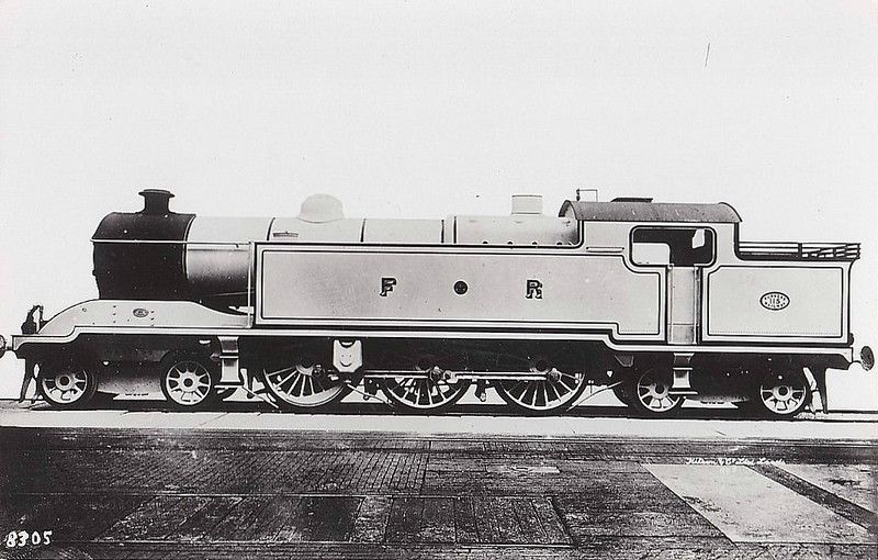 115 - Rutherford FR Class 115 4-6-4T - built 1920 by Kitson & Co. - 1923 to LMS No.11100 - 1935 withdrawn.