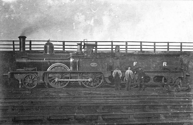 57 - Mason FR Class E1 2-4-0 - built 1871 by Sharp Stewart & Co., Works No.2093 - 1918 withdrawn.