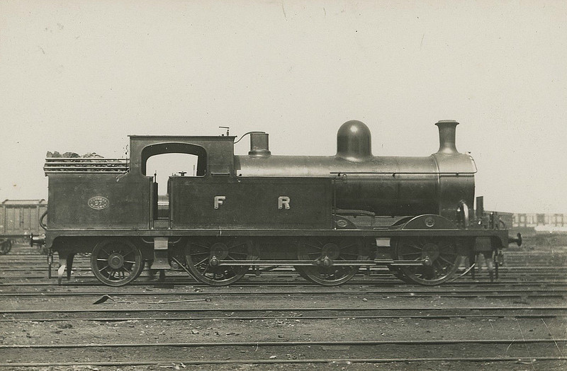 97 - Pettigrew FR Class L3 0-6-2T - built 1907 by North British Loco Co., Works No.17809 - 1923 to LMS No.11636 - 1941 withdrawn.