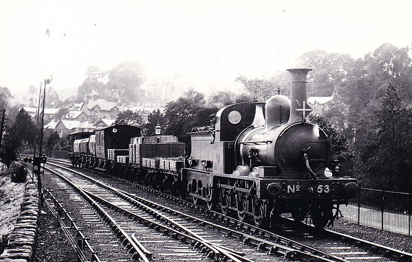 53 - Ramsden FR Class D1 0-6-0 - built 1871 by Sharp Stewart & Co., Works No.2097 - 1916 withdrawn.
