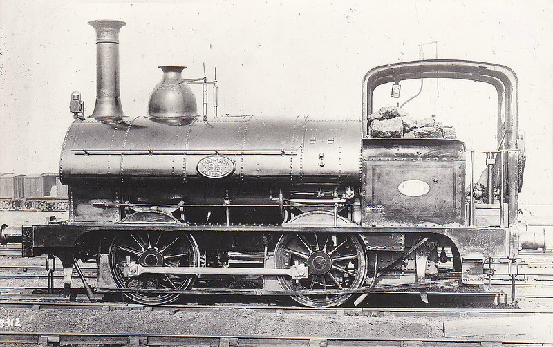 95 - FR Class 23 0-4-0ST - built 1874 by Sharp Stewart & Co., Works No.2449 - 1912 to Duplicate List as No.95A - 1916 withdrawn.