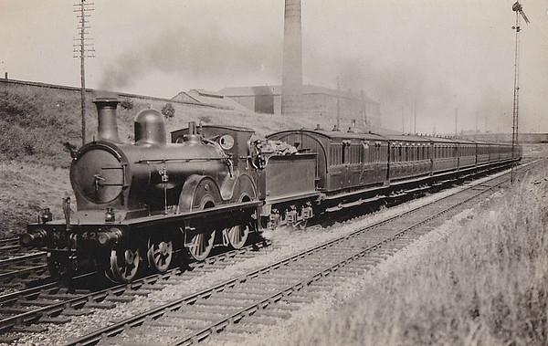 LOCOMOTIVES OF THE GLASGOW & SOUTH WESTERN RAILWAY