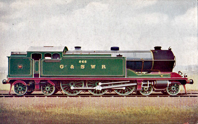545 - Whitelegg Class 540 4-6-4T - built 04/22 by Hyde Park Works - 1923 to LMS No.22891 - 06/36 withdrawn.