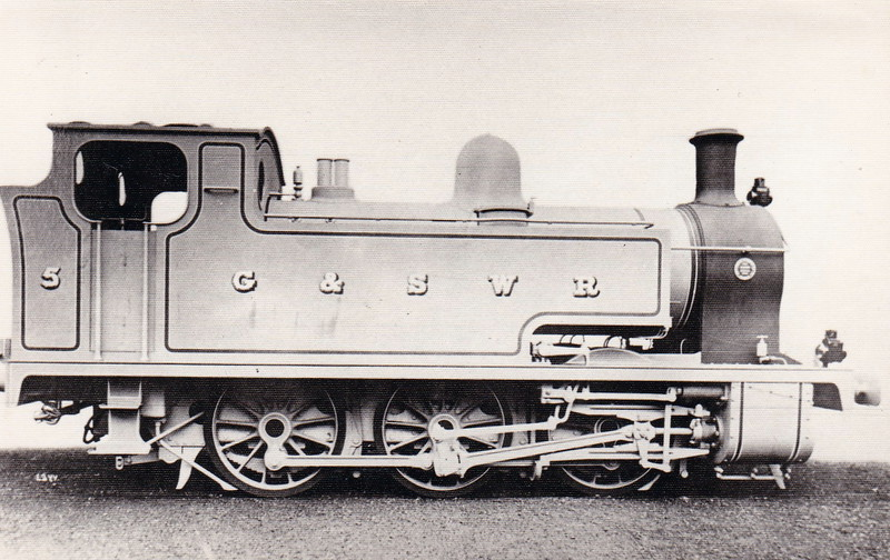 5 - Drummond GSWR Class 5 0-5-0T - built 11/17 by North British Loco Co., Works No.21519 - 1919 to GSWR No.322 - 1923 to LMS No.16377 - 04/32 withdrawn.