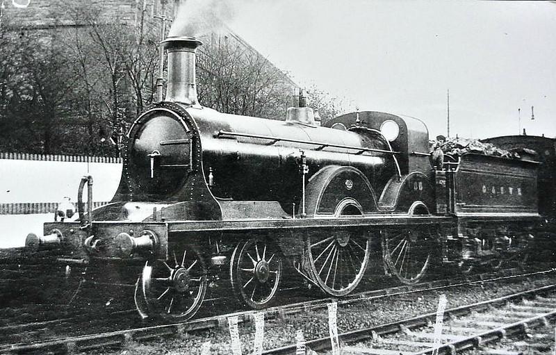 86 - Smellie GSWR Class 153 4-4-0 - built 03/1888 by Kilmarnock Works - 1919 to GSWR No.460, 1923 to LMS No.14153 - 1930 withdrawn.