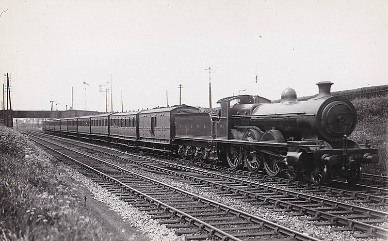 497 - Manson Class 381 4-6-0 - built 05/03 by North British Loco Co. as GSWR No.383 - 1919 to GSWR No.497, 1923 to LMS No.14658 - 1930 withdrawn.