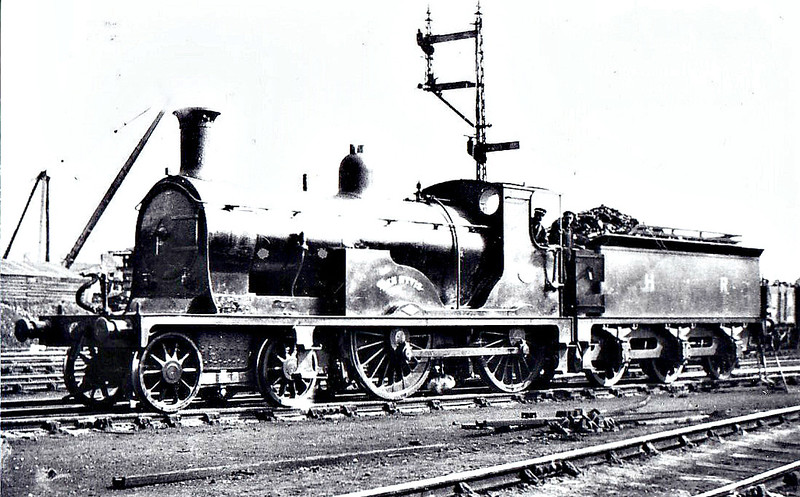 3 BEN WYVIS - Drummond HR Small Ben Class 2P 4-4-0 - built 07/1898 by Dubs & Co. - 1923 to LMS No.14399, 01/48 to BR No.54399 - 05/52 withdrawn from 60D Wick.