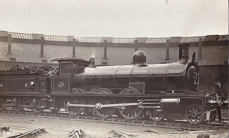 112 - Jones HR Goods Class 4-6-0 - built 1894 by Sharp Stewart & Co. - 1923 to LMS No.17926 - all withdrawn by 1940.