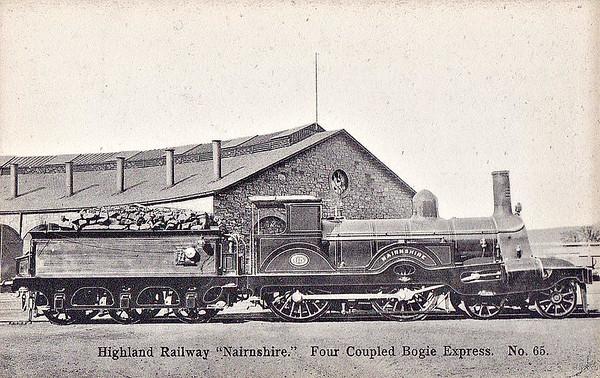 LOCOMOTIVES OF THE HIGHLAND RAILWAY - transportsofdelight