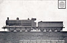 114 - Aspinall LYR Class 30 0-8-0 - built 02/02 by Horwich Works, Works No.841 - 1924 to LMS No.12782, 11/48 to BR No.52782 - 09/50 withdrawn from 23B Aintree.
