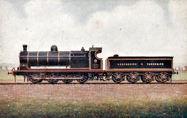 LOCOMOTIVES OF THE LANCASHIRE & YORKSHIRE RAILWAY