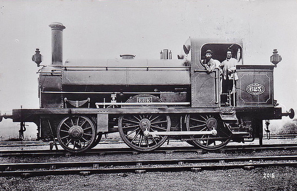 623 ELK - I think this must be one of the 25 Class 23 2-4-0ST's built by Miles Platting Works between 1868 and 1874.