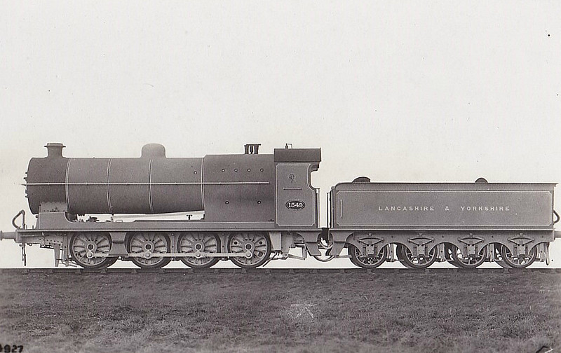 1549 - Aspinall LYR Class 30 0-8-0 - built 01/13 by Horwich Works - 1924 to LMS No.12843 - 12/36 withdrawn.