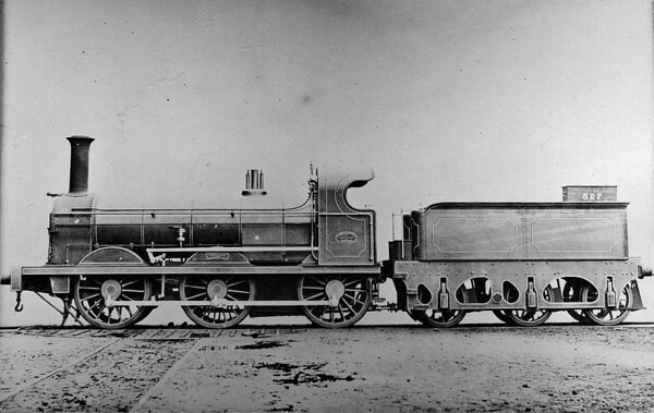 527 - Yates/Hurst LYR Class 90 0-6-0 - built 1876 by Yorkshire Engine Co., Works No.274 - 1903 withdrawn.