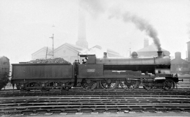 1361 PROSPERO - Whale LNWR 'Experiment' Class 4-6-0 - built 10/07 by Crewe Works - 04/15 rebuilt with 4-Cylinders - 02/27 to LMS No.5554 - 1931 withdrawn - seen here as rebuilt.