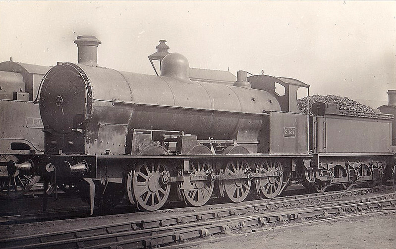 2057 - Bowen-Cooke LNWR Class G1 6F 0-8-0 - built 07/03 by Crewe Works - 1923 to LMS No.9371, 12/49 to BR No.43971 - 03/64 withdrawn from 18A Toton.
