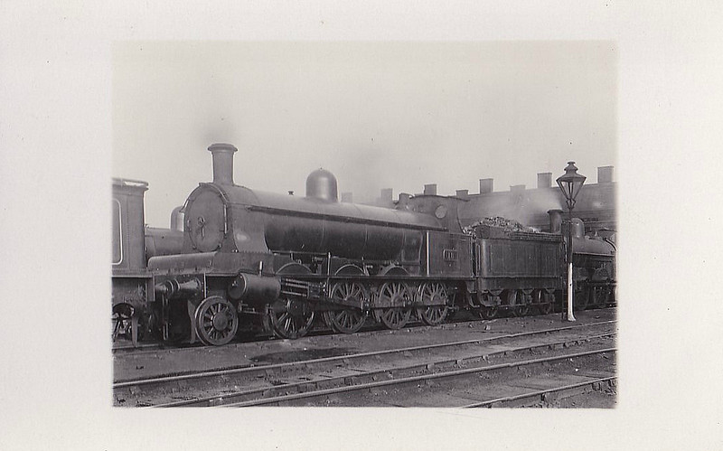 18 - Webb LNWR Class B 4-Cylinder Compound 0-8-0 - built from 101 to 1904 by Crewe Works - 1905 rebuilt to Class E 2-8-0 - LMS No.9602 not applied - 1928 withdrawn - seen here at Willesden, 05/24.