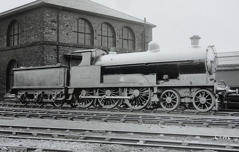 863 - Bowen-Cooke LNWR 'Prince of Wales' Class 4-6-0 - built 01/19 by Crewe Works - 04/26 to LMS No.5696, 05/34 to LMS No.25696 - 12/34 withdrawn.