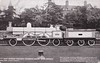 2054 QUEEN EMPRESS - Webb LNWR 'Greater Britain' Class 3-cylinder Compound 2-2-2-2 - built 1892 by Crewe Works - 1906 withdrawn
