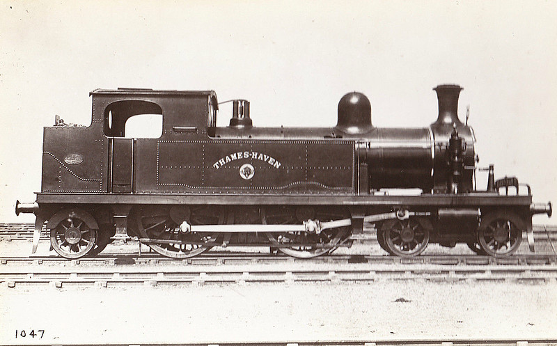 17 THAMES HAVEN - Whitelegg LTSR Class 1 4-4-2T - built 1881 by Sharp Stewart & Co. - 1912 to MR No.2126, 1923 to LMS No.2191, 1930 to LMS No.2068 - 1935 withdrawn.