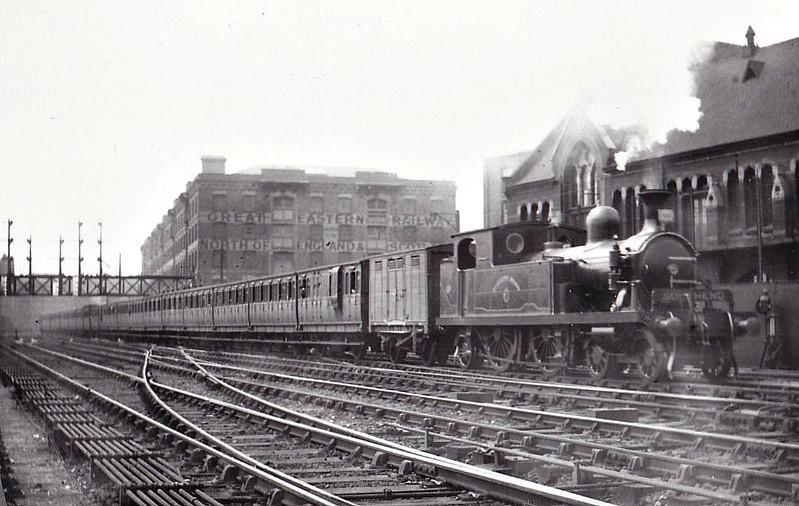 18 BURDETT ROAD - Whitelegg Class 1 4-4-2T - built 1881 by Sharp Stewart - 1912 to MR No.2127, 1923 to LMS No.2192, 1930 to LMS No.2069 - 1930 withdrawn.