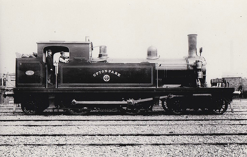 6 UPTON PARK - Whitelegg Class 1 4-4-2T - built 1880 by Sharp Stewart - 1912 to MR No.2115, 1923 to LMS No.2205, 1930 to LMS No.2082 - 1933 withdrawn.