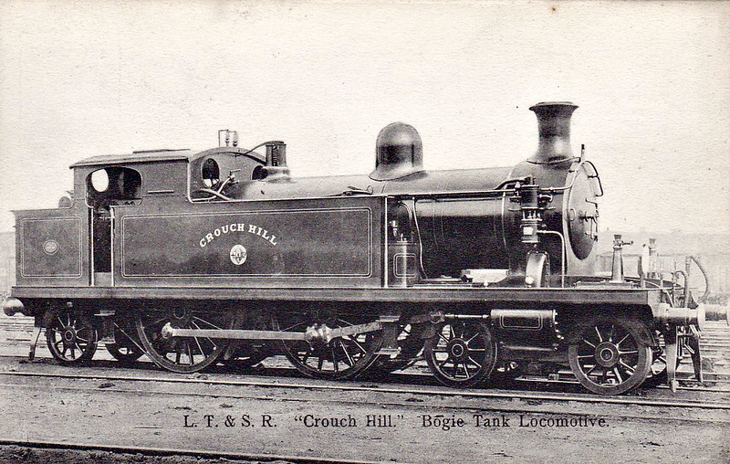 57 CROUCH HILL - Whitelegg Class 51 4-4-2T - built 1900 by Sharp Stewart - 1912 to MR No.2164, 1930 to LMS No.2098 - BR No.41916 not applied - 03/51 withdrawn from 15A Wellingborough.