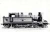 39 FOREST GATE - Whitelegg LTSR Class 37 4-4-2T - built 04/1897 by Sharp Stewart & Co. - 1907 to MR No.2148, 1930 to LMS No.2137, 05/48 to BR No.41955 - 02/51 withdrawn from 33B Tilbury.