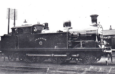 73 CRANHAM - Whitelegg Class 69 0-6-2T - built 06/03 by North British Loco Co. - 1912 to MR No.2183, 1923 to LMS No.2223, 1939 to LMS No.2183, 1947 to LMS No.1983, 07/48 to BR No.41983 - 02/59 withdrawn from 13A Plaistow - seen here at Tilbury in 1904.
