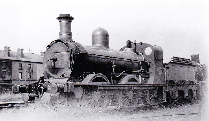 No.21 - M&CR Class 21 0-6-0 - built 1871 by Beyer Peacock & Co. - 1903 rebuilt - 1924 to LMS No.12081 - 07/24 withdrawn.