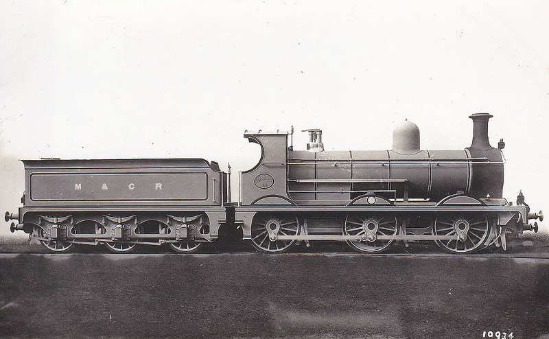 No.18 - Anderson MCR Class 18 0-6-0 - built 1908 by North British Loco Co., Works No.18265 - 1919 rebuilt to Class 25 - 1924 to LMS No.12493 - 12/25 withdrawn.