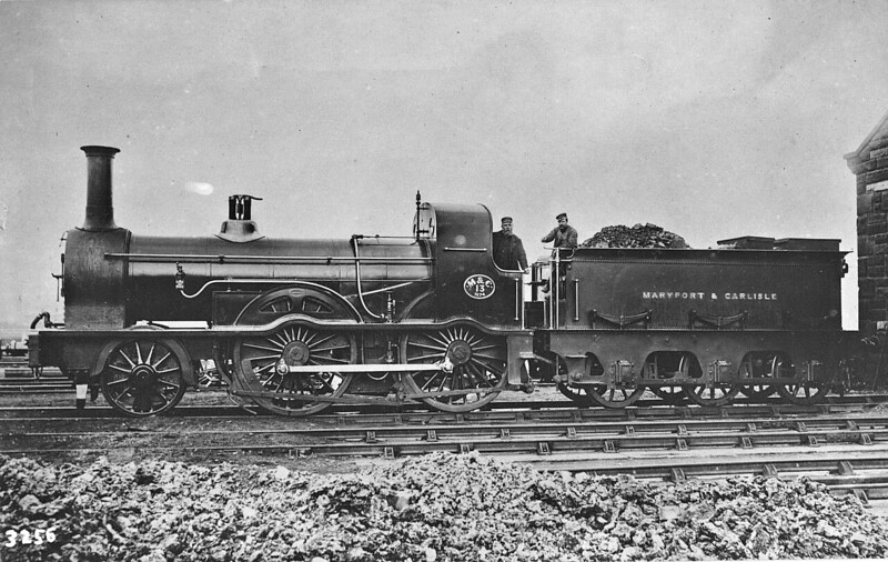 No.13 - Smellie M&CR Class 13 2-4-0 - built 1873 by Maryport Works - 1924 to LMS No.10005 (not applied) - 03/25 withdrawn.