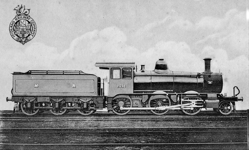2516 - MR 'Yankee Mogul' 2-6-0 - built 1899 by Schenectady Locomotive Co. as MR No.2516 - 1907 to MR No.2235 - 1914 withdrawn.