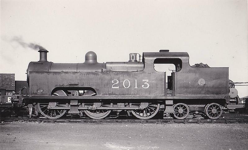 2013 - Deeley MR Class 3P Flatiron 0-6-4T - built 1907 by Derby Works - 1936 withdrawn.